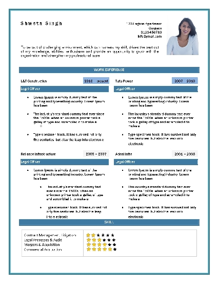 Online Free Resume Templates | Download Resume Template Word - Rts